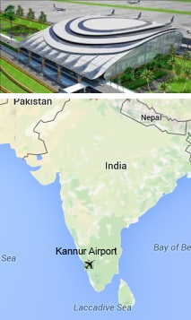 Kannur International Airport IndiaAirportcom - Kannur map