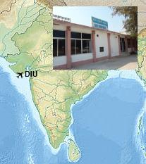 map of dia airport Diu Airport Indiaairport Com map of dia airport